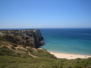 Sagres strand i södra Portugal